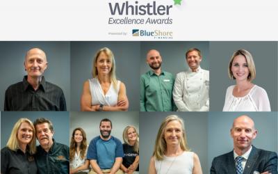 2021 Whistler Excellence Awards Winners